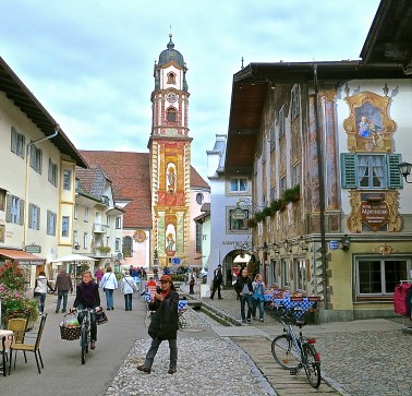 Pedestrian Center Of Mittenwald