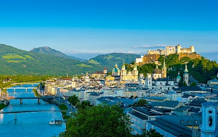 The Beautiful City Of Salzburg