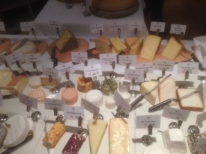 Part Of The Cheese Course Selection