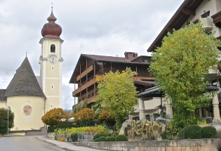 Posthotel Achenkirch Is In The Center Of Town