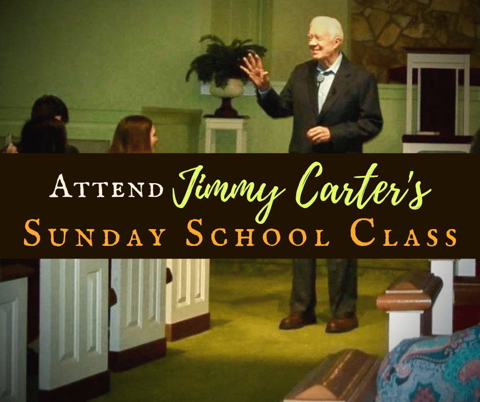 An Audience With the President: Jimmy Carter's Sunday School Class