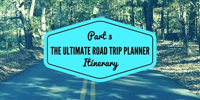 road trip itinerary the ultimate planner backroad planet