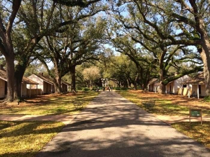 Oak Alley Plantation Back Slave Quarters