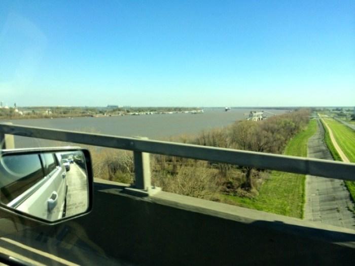 Sunshine Bridge Mississippi River