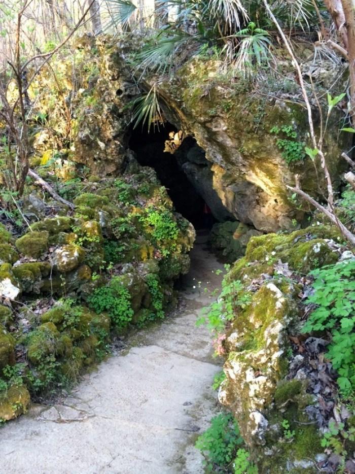 Florida Caverns Exit
