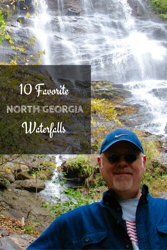 Ten incredibly beautiful North Georgia waterfalls you can easily schedule into your road trip or vacation. #travel #TBIN #Georgia #roadtrip #waterfall