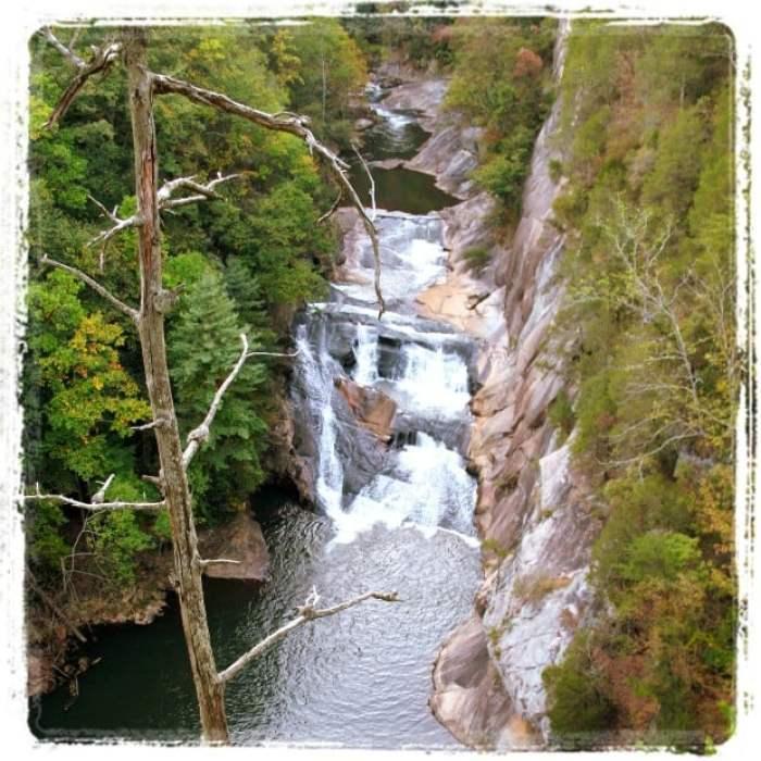 Tallulah Gorge Falls Georgia