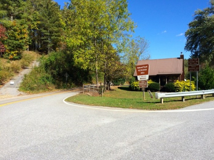Road to Sea Creek Falls