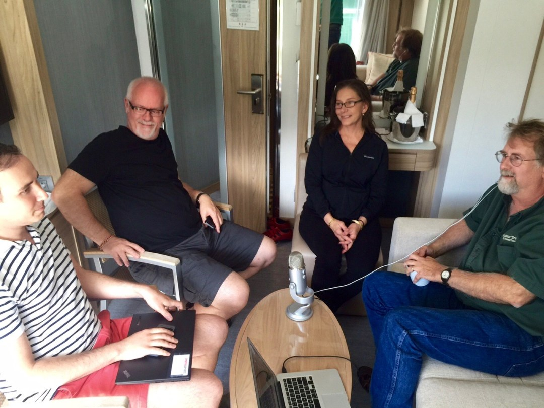 Ramsey Qubein, Howard Blount, Michelle Winner, Chris Christensen on This Week in Travel podcast 196.