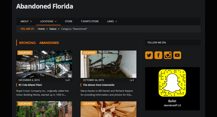Screen Shot 2015 12 04 at 11.18.53 PM - How to See the Real Florida: 11 Essential Web Sites