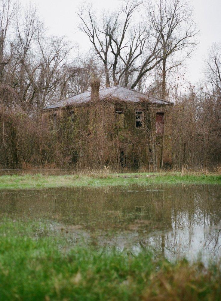 Rodney Mississippi Brick Building Flood