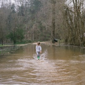 Rodney Mississippi Flood Girl