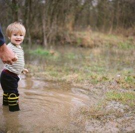 Rodney Mississippi Flood Boy