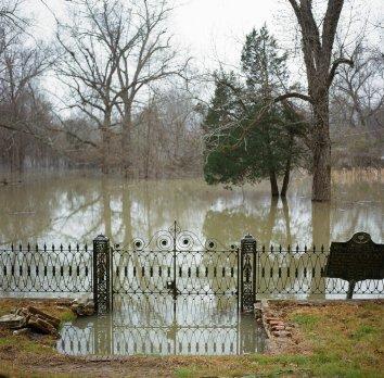 Rodney Mississippi Presbyterian Church Gate Flood