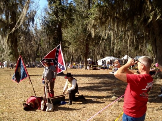Bowlegs Creek Civil War Reenactment Florida