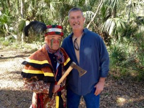 Ken Hawkwood Jerry Woods Fort Foster Seminole War Reenactment Florida