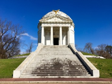 Vicksburg National Military Park Illinois Memorial