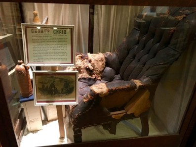 Old Court House Museum Vicksburg Mississippi Grant's Chair