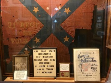 Old Court House Museum Vicksburg Mississippi Flag