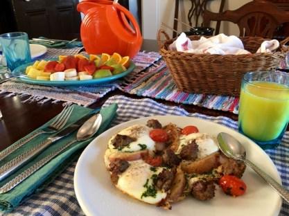 The Bazsinksy House Vicksburg Mississippi Breakfast