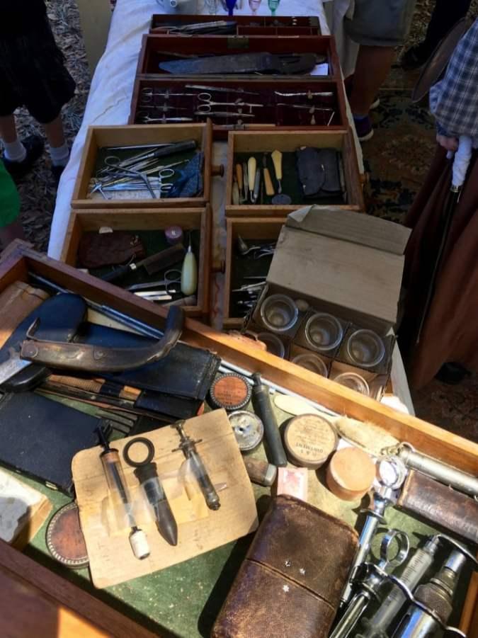 Civil War Era Surgical Instruments