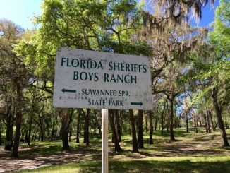 Florida Sheriff's Boys Ranch Sign