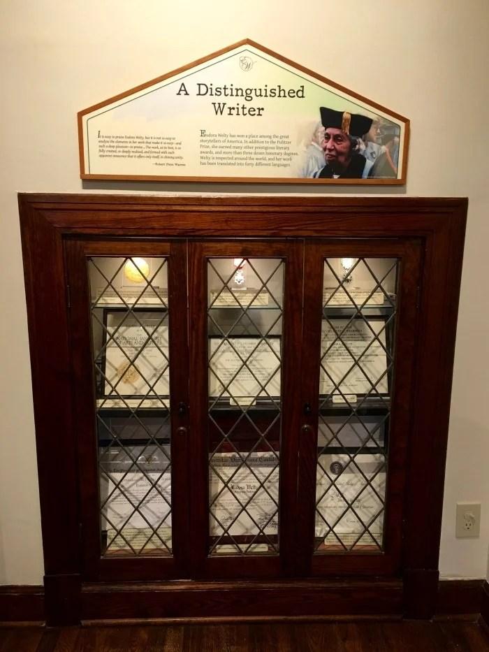 Eudora Welty Visitor Center Jackson Mississippi Certificates