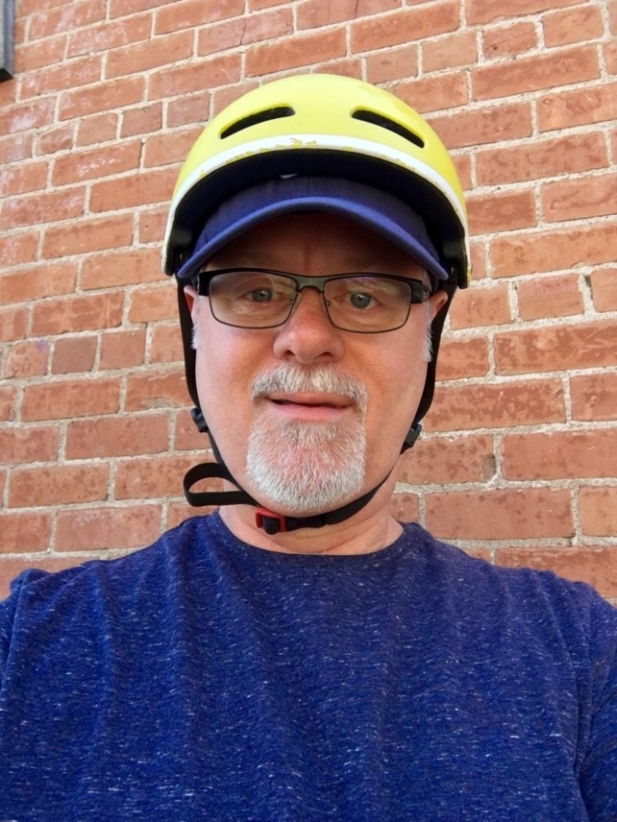 Man Bike Helmet