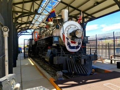 Locomotive 1673 Tucson Arizona
