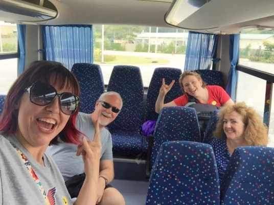 Fathom Impact Travel Coach Friends Dominican Republic