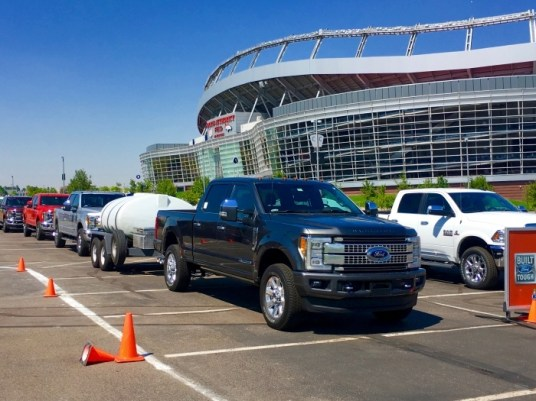 Mile High Stadium Denver Colorado 2017 Ford Super Duty