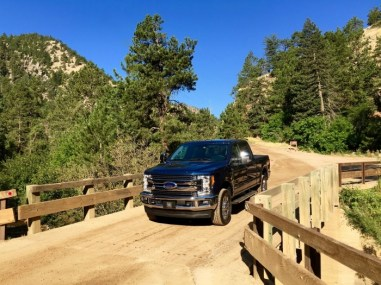 Eldorado Canyon State Park Colorado 2017 Ford Super Duty