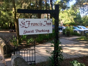 St. Francis Inn St Augustine Florida Sign
