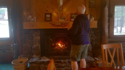 Hannagan Meadow Lodge Fireplace