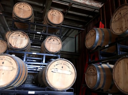 St Augustine Distillery Barrels