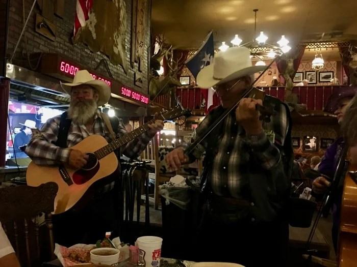 Big Texan Amarillo Texas Singers
