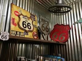 Big Texan Amarillo Texas Route 66 Signs
