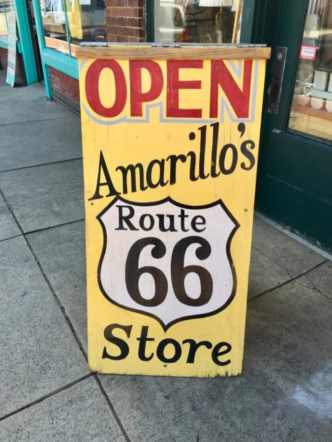Route 66 Amarillo Texas Sixth Street Historic District