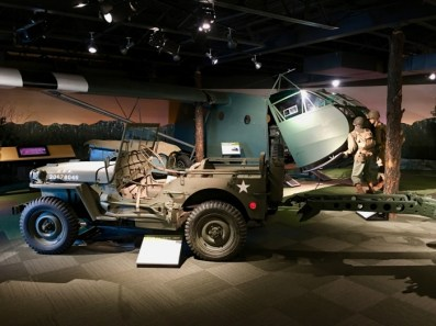 Silent Wings Museum Lubbock Texas Jeep
