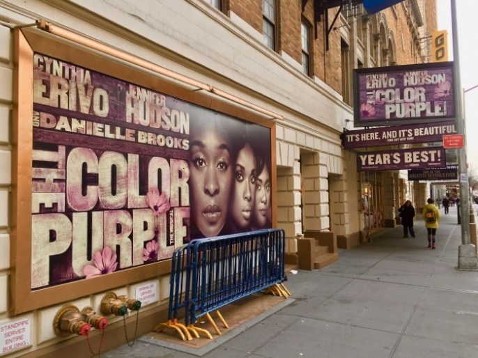 Color Purple Broadway Musical New York