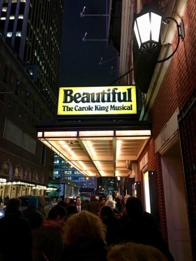 Carole King Beautiful Musical Sign New York Broadway