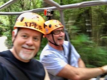 Xplor Park Cancun Mexico Howard Blount Jerry Woods
