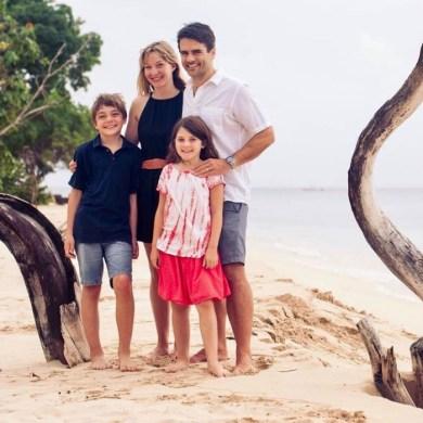 Tara & family from Pint Size Pilot