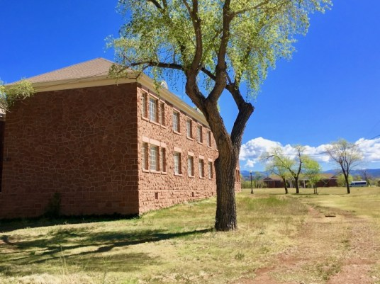 Fort Apache Historic Park Roosevelt School