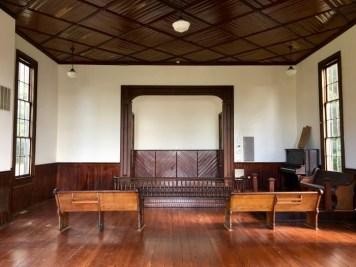 historical church sanctuary