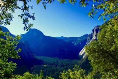 Yosemite at twilight