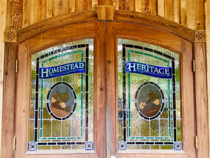 Homestead Heritage stained glass
