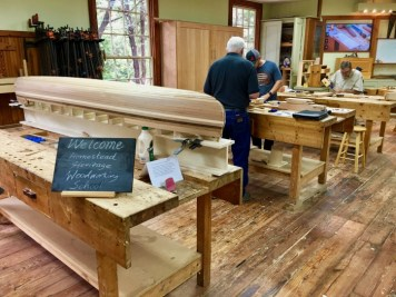 Homestead Heritage woodworking school