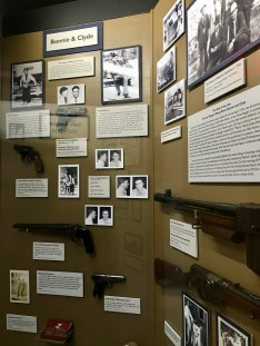Bonnie and Clyde exhibit