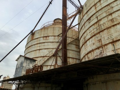 Silos at Magnolia Market Waco, Texas